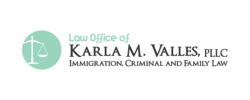 Law Office of Karla M. Valles, PLLC Immigration, Criminal, and Family Law Logo